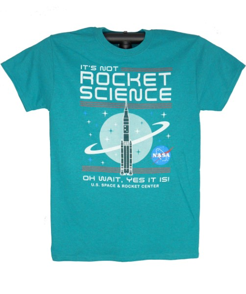 It's Not Rocket Science Adult T-Shirt,NOT ROCKET SCIENCE,S14962/200A/AJD