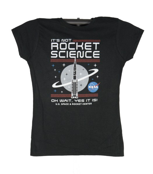 It's Not Rocket Science JR T-Shirt,NOT ROCKET SCIENCE,S14962/238J/BLK