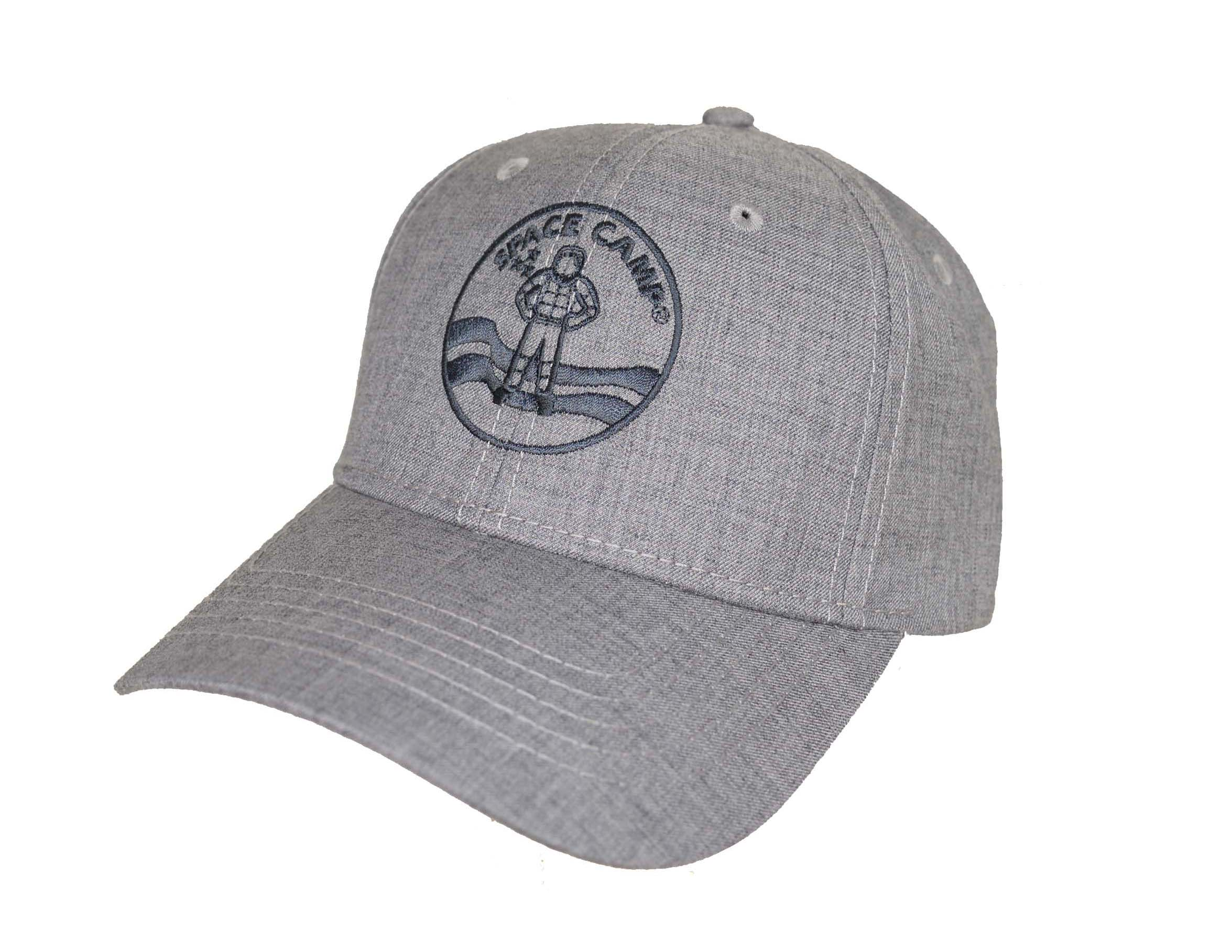 Space Camp Logo Melange Twill Cap,SPACECAMP,S110210/PH182
