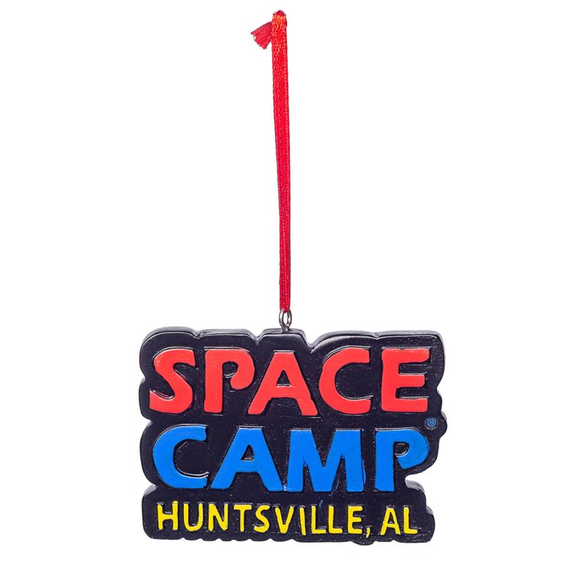 Space Camp Poly Resin Ornament,SPACECAMP,HOL115/DS2144-C3