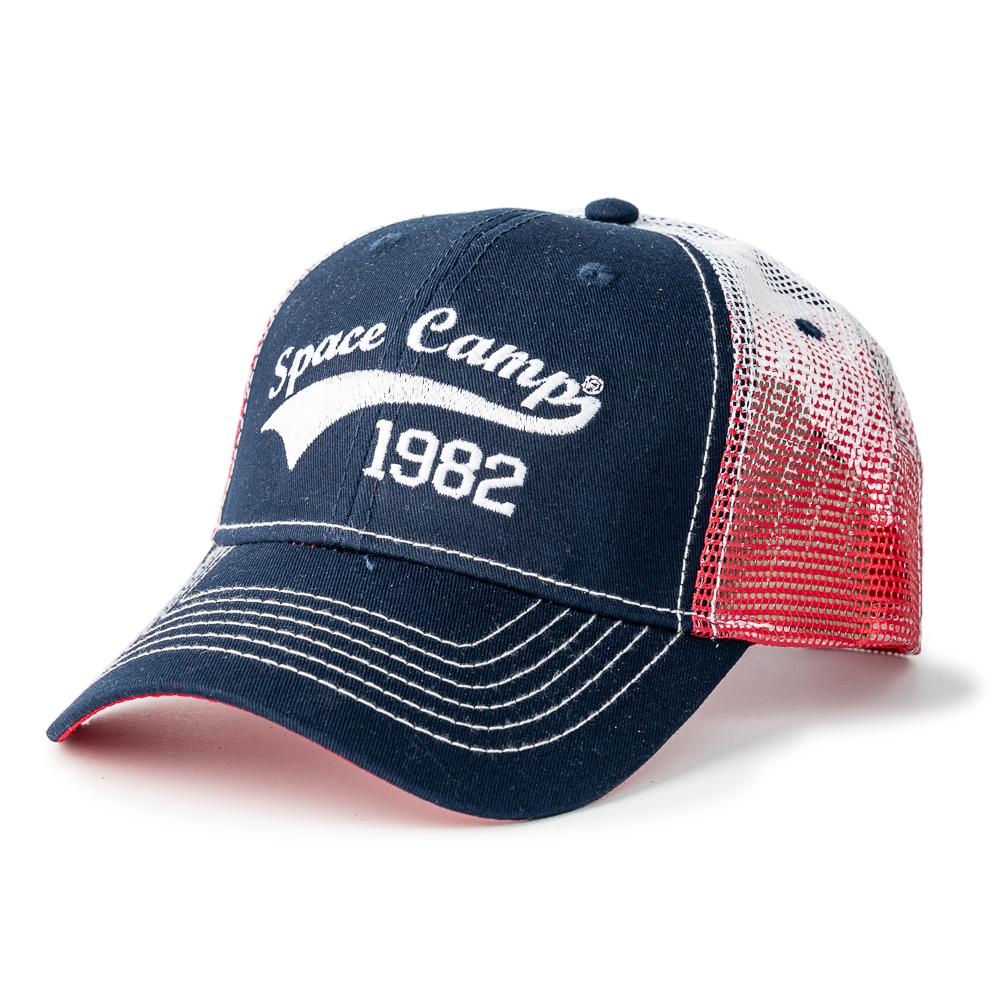Space Camp Tri-Tone Cap with Mesh back,SPACECAMP,28021