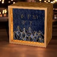 Look Up & Get Lost Light Box,LBX-W-23996