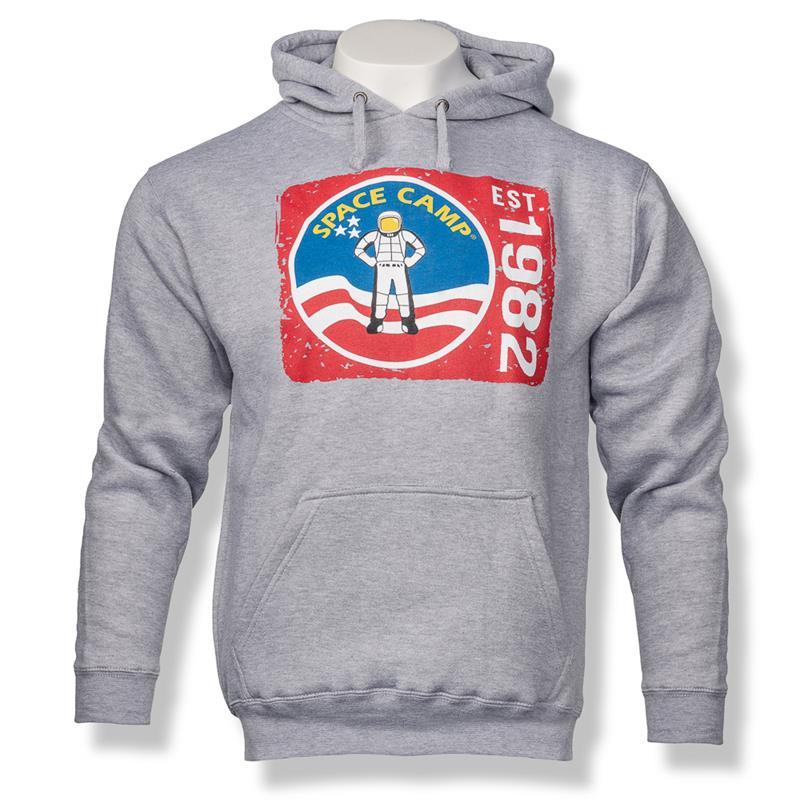 Space Camp Hooded Sweatshirt,SPACECAMP,J AMERICA 8824