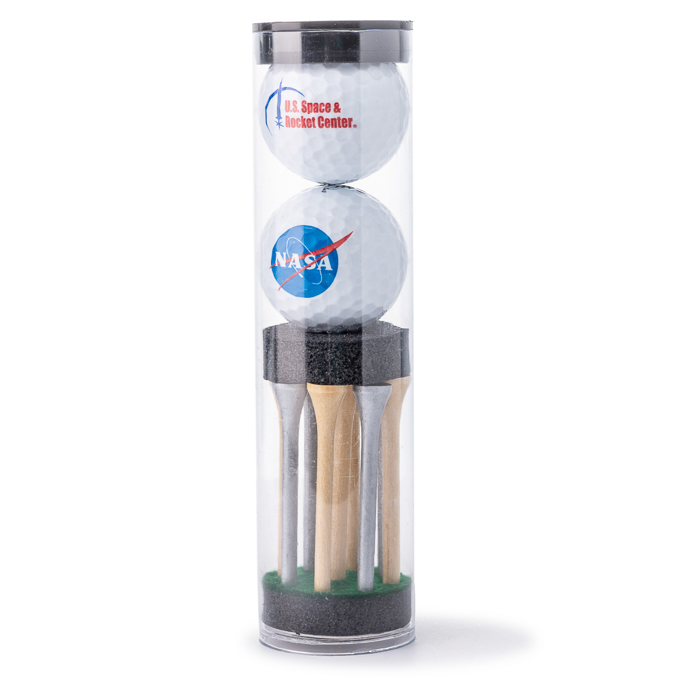NASA Golf Balls and Tee Set,NASA,07/8030