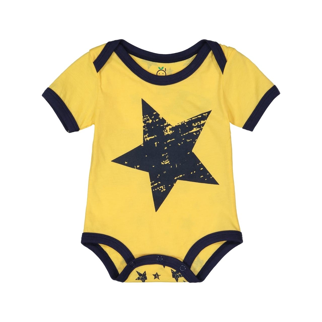 Yellow Star Bodysuit