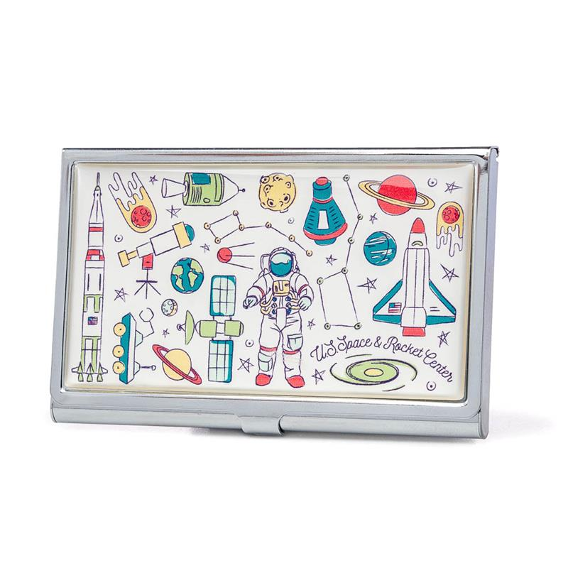 Space Collage Business Card Holder,25/0008