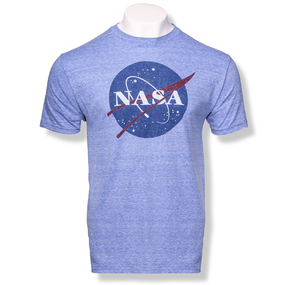 Diluted NASA Meatball T-Shirt,NASA,KSC412/SNOW6500XXL