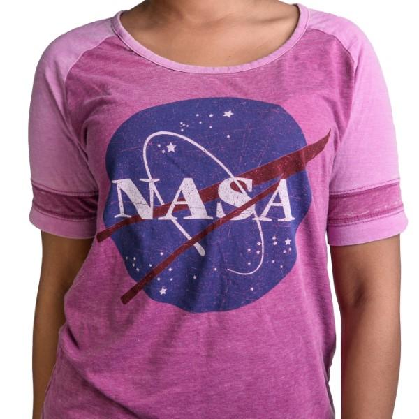 NASA Meatball Football T-Shirt,NASA,KSC412/NFL915