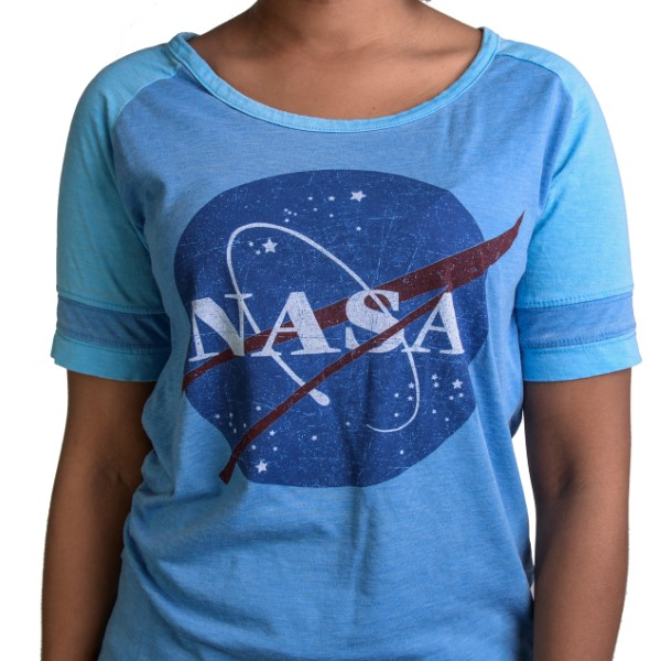 NASA Meatball Football T-Shirt,NASA,KSC412/NFL915