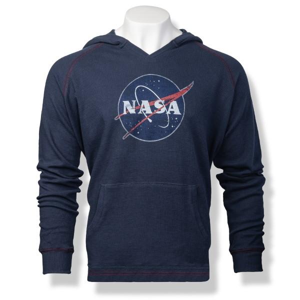 NASA Meatball Men's Thermal Hoodie,NASA,S12719/R376A
