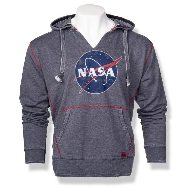 NASA Meatball Burnout Slub Hoodie P51,NASA,S12719/R655A
