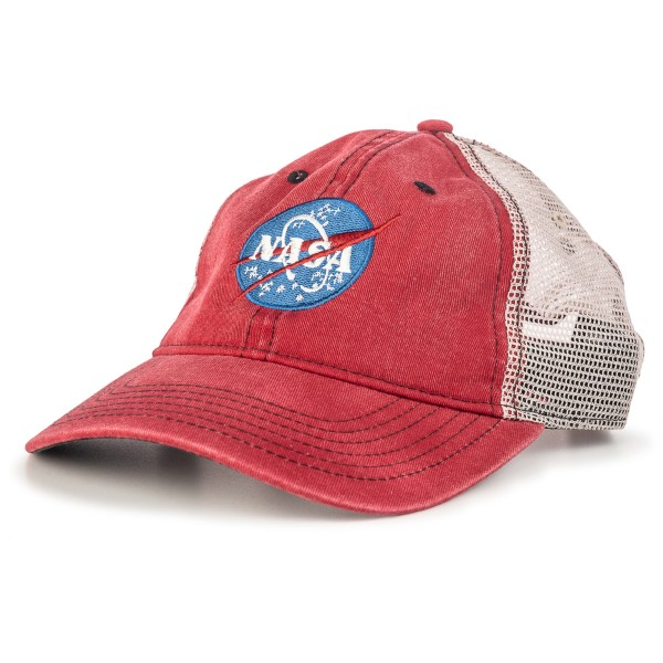 NASA Meatball P51 Trucker Cap,NASA,C4889E/R053H