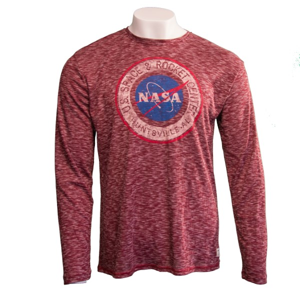 NASA Vector Mens Long-Sleeve T-Shirt,NASA,R12622/R322A