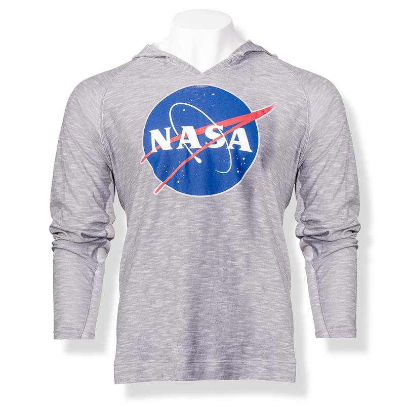 NASA Meatball Men's Two-Tone Hoodie,NASA,S13225/356A