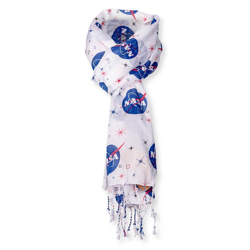 NASA Vector Logo Cotton Scarf,NASA