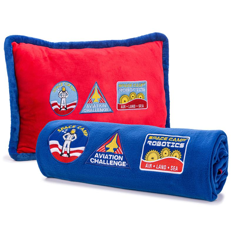 Space Camp Pillow & Blanket Set,SPACECAMP