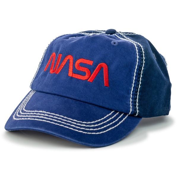 NASA Worm Logo Cap,NASA,S131826/PH219
