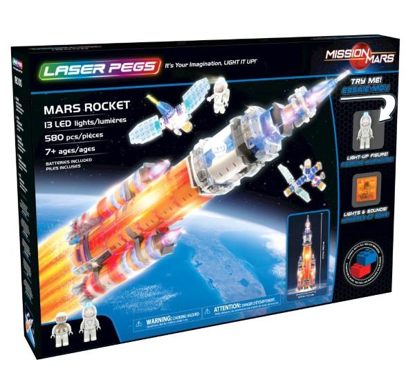 Mars Rocket Laser Pegs,18000