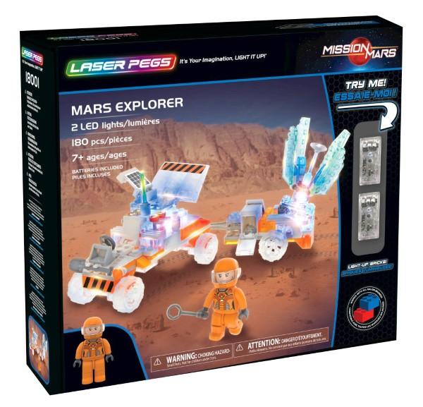 Mars Explorer Laser Pegs,18001