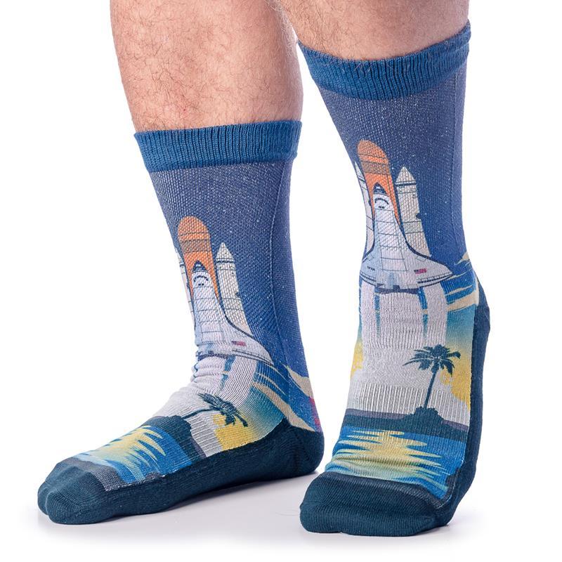 Space Shuttle Launch Socks,4143