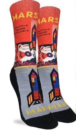 Womens Mars or Bust Socks,5032