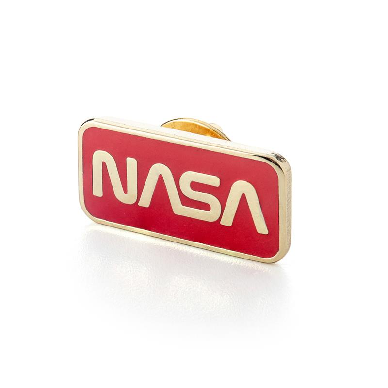 NASA Worm Logo Pin,NASA