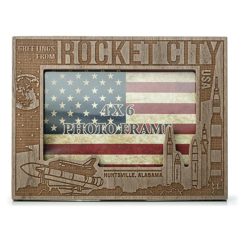 Rocket City Picture Frame,ROCKET CITY USA,DS23798-C1/NOV999