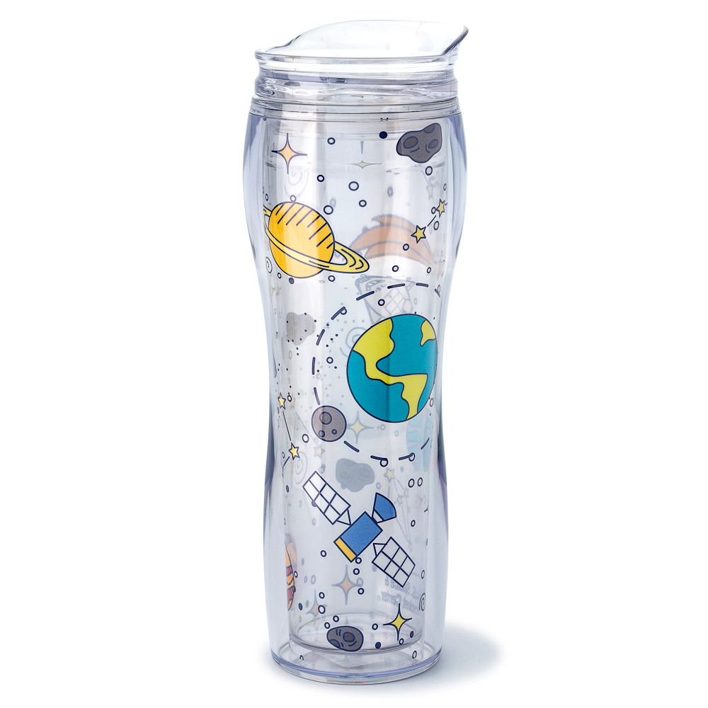 14oz Collage Space Tumbler,DS23799-C1/DNK481