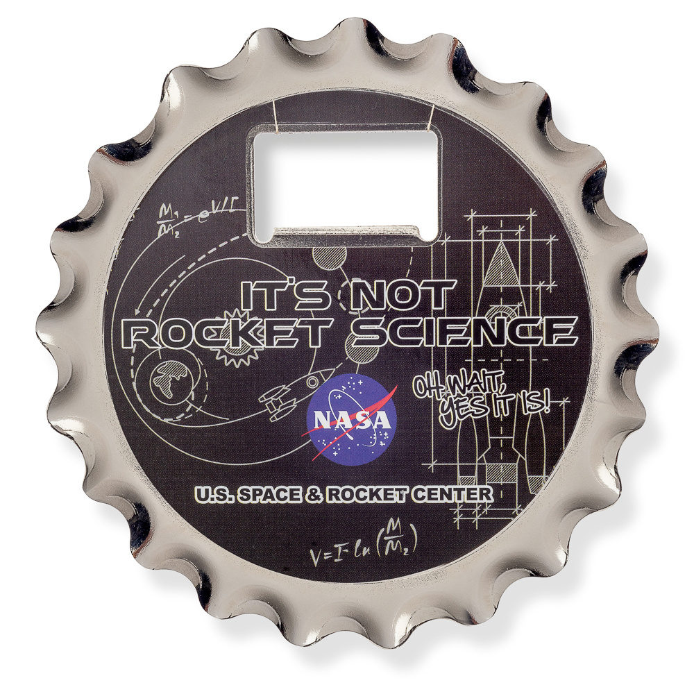Not Rocket Science Coaster, Opener, Magnet,NOT ROCKET SCIENCE,DS23811-C1/NOV999
