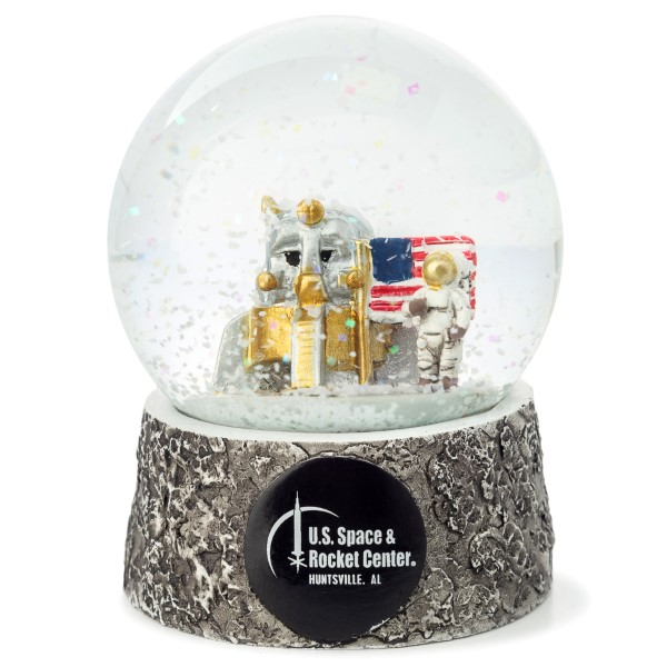 Lunar Lander Snow Globe,50TH ANNIVERSARY,09/6993 IMP