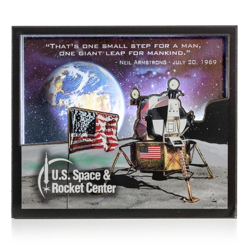Lunar Magnet,50TH ANNIVERSARY,11/8733 IMP
