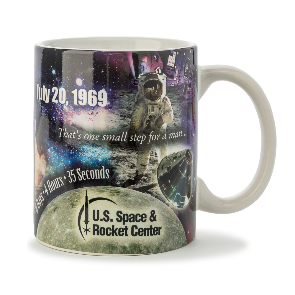 Apollo 11 Collage Mug,50TH ANNIVERSARY,02/8774 IMP