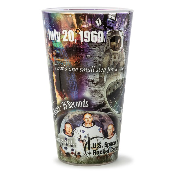 Apollo 11 Collage Pint Glas,50TH ANNIVERSARY,09/9253 IMP