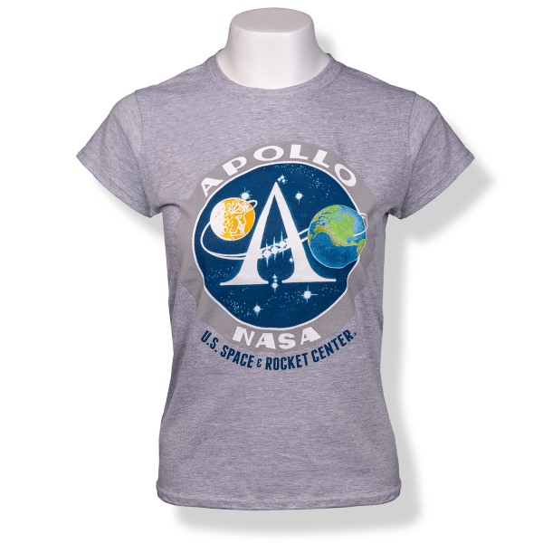 Apollo Emblem Ladies T-Shirt,50TH ANNIVERSARY,S130391/64000L