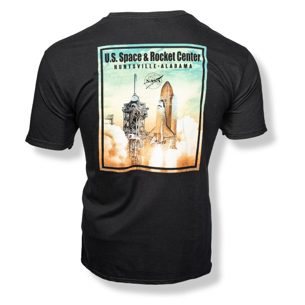 Ancient Atlantis Launch T-Shirt,NASA,FFT980/A804KSC-FB