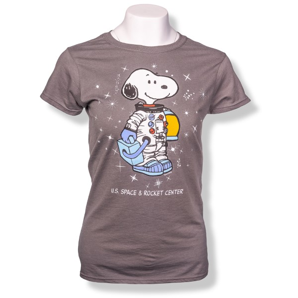 Galaxy Peanuts Ladies T-Shirt,PEANUTS,G64000L