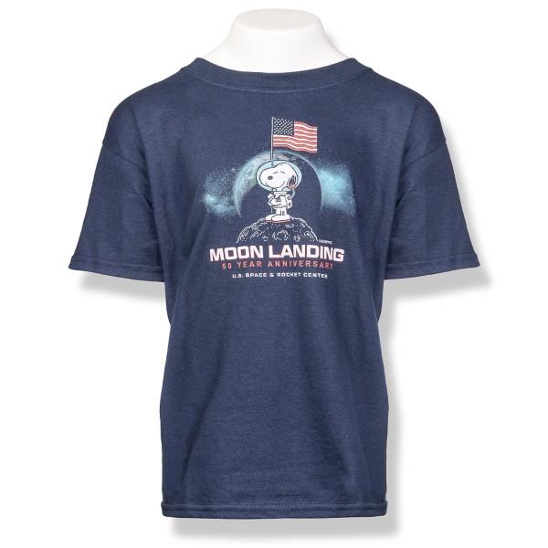 Moon Landing Peanuts T-Shirt,PEANUTS,G5000