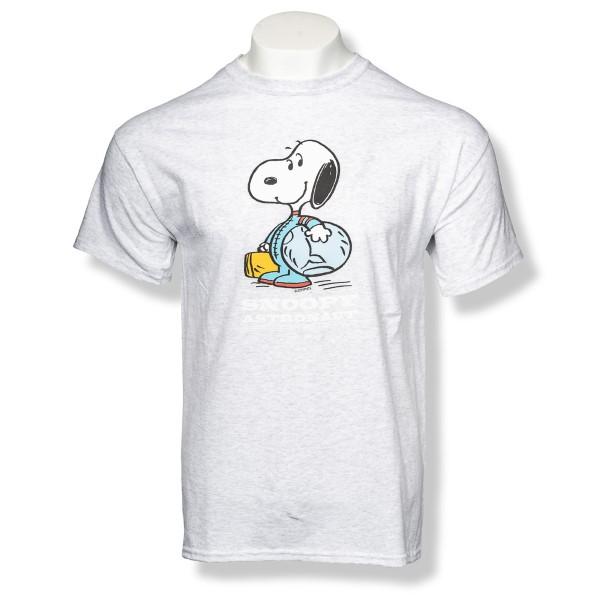 Snoopy Astronaut Peanuts T-Shirt,PEANUTS,G5000