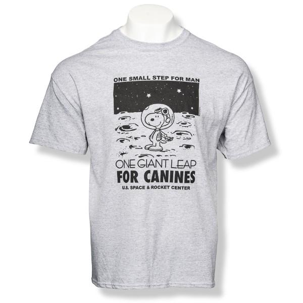 Canine Leap Peanuts T-Shirt,PEANUTS,G5000