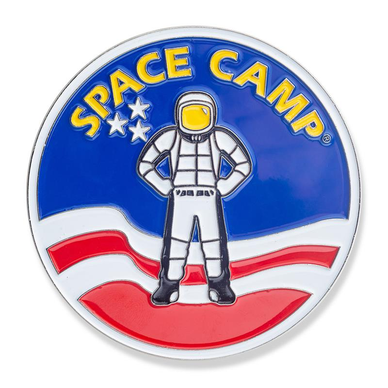 Space Camp Metal Magnet,SPACECAMP,DS24731/MAG107