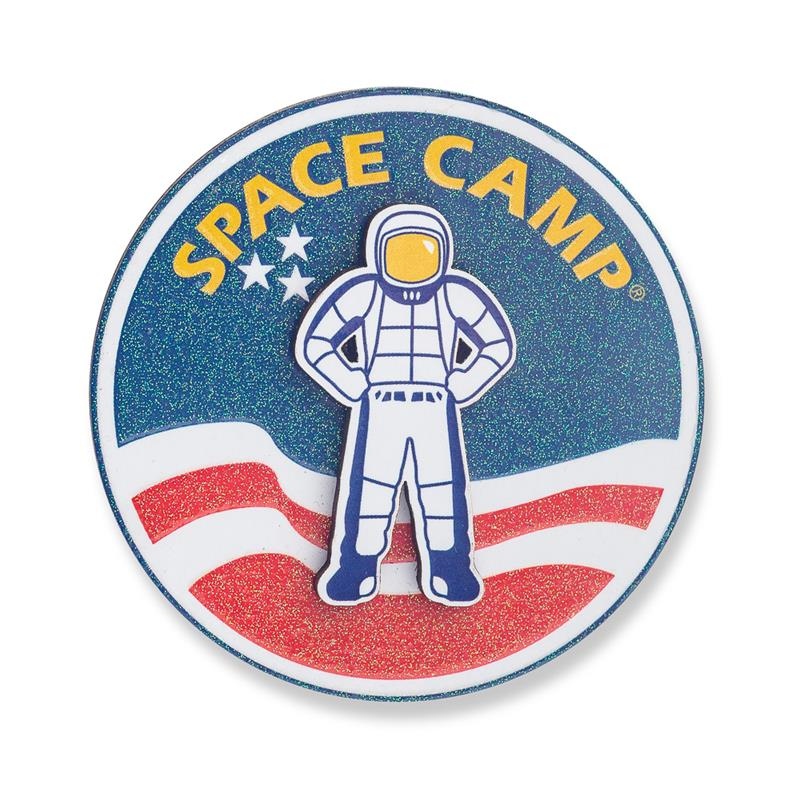 Space Camp Glitter Dual Magnet,SPACECAMP,21/8856 IMP