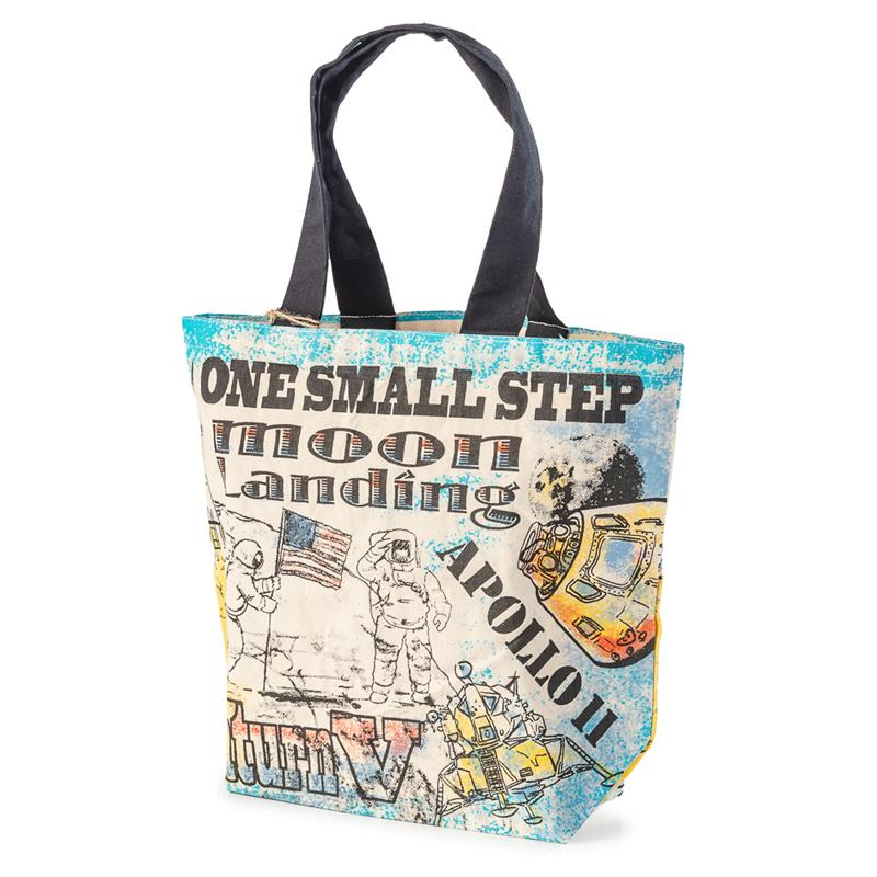 Moon Landing Shopper Tote,50TH ANNIVERSARY