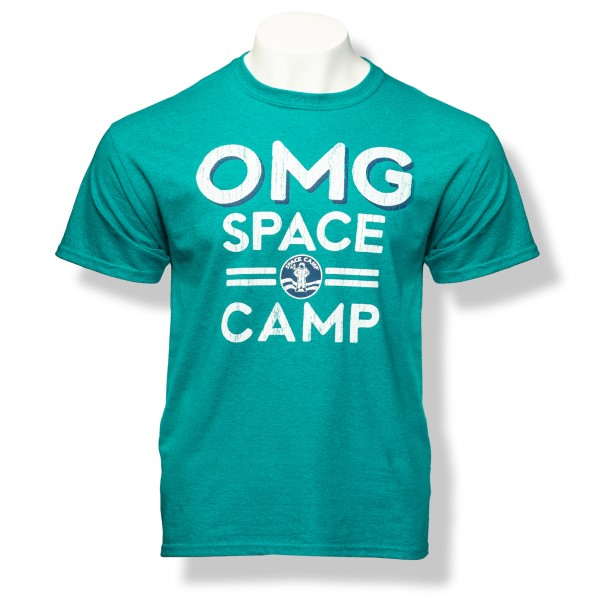 OMG Space Camp T-Shirt,SPACECAMP,S16823/200A