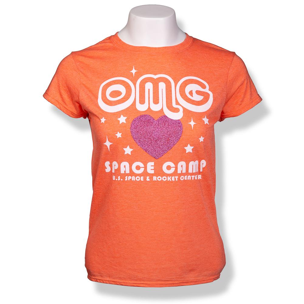 OMG Space Camp Jrs T-Shirt,SPACECAMP,S16823/238J
