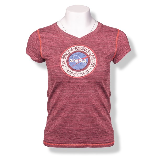 NASA Vector P51 Girl's Peached T-Shirt,NASA,R12701/R236J