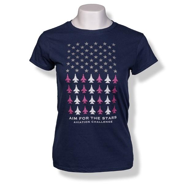 Aim for Aviation Challenge JR T-Shirt,SPACECAMP,S16837/238J