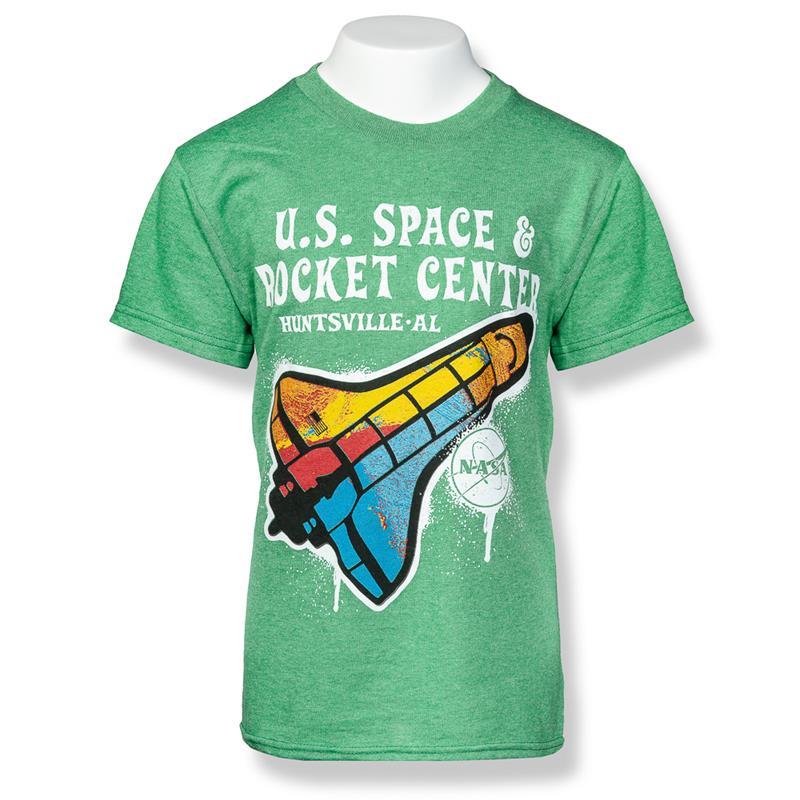 Big Paint Shuttle T-Shirt,S16874-K/500C