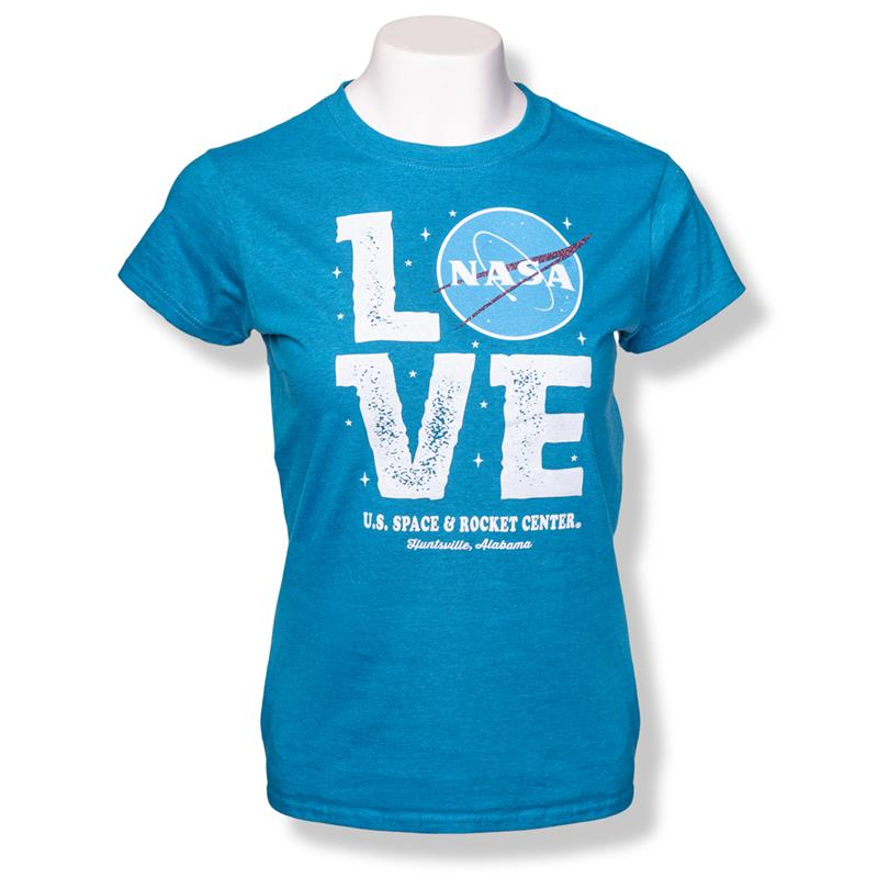 NASA Love Space Girls Cap Sleeve T-Shirt,NASA,S16789-K/506C