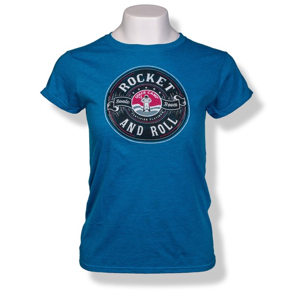 Rockn Space Camp Jrs Cap Sleeve T-Shirt,SPACECAMP,S16791/200A