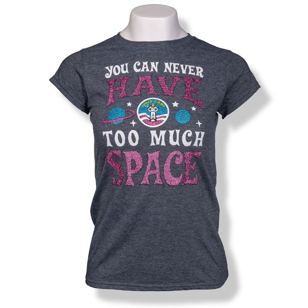 Too Much Space Camp Jrs Cap Sleeve T-Shirt,SPACECAMP,S16825/200A